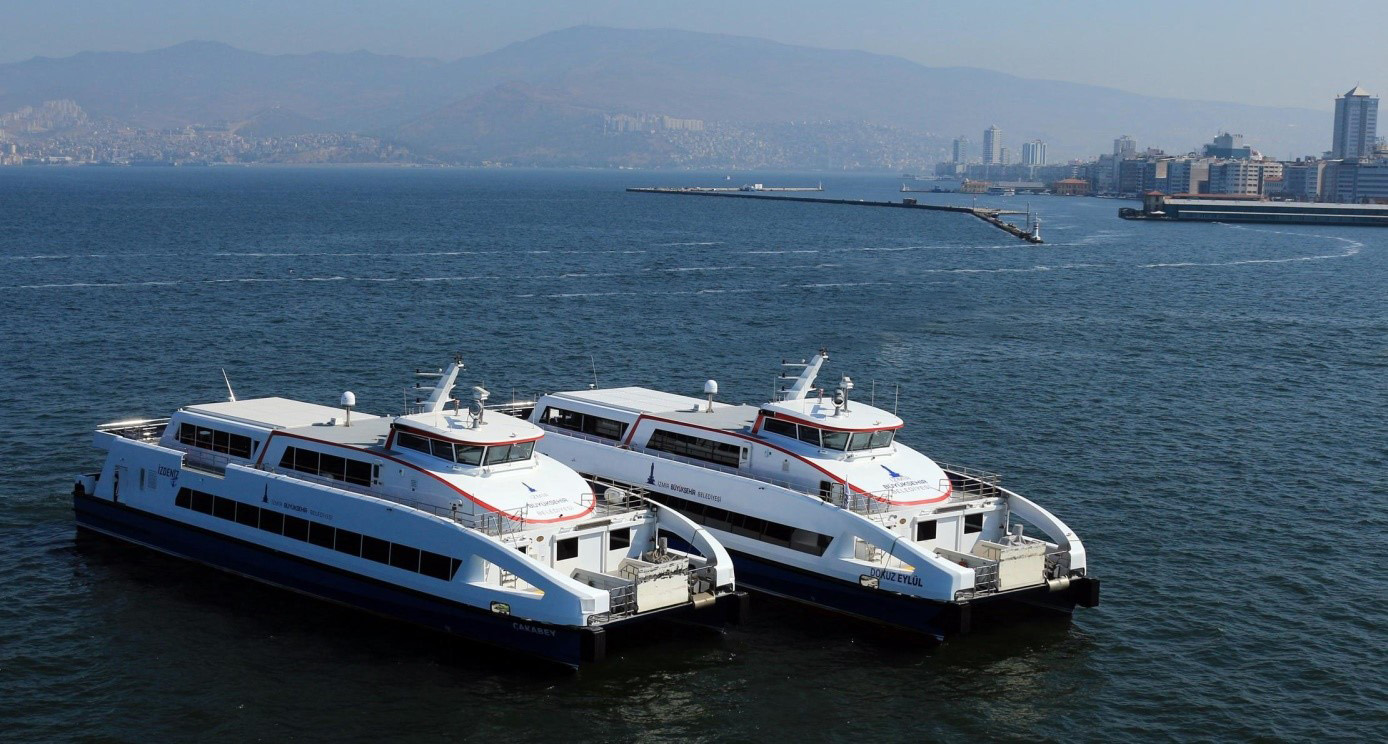 15 passenger catamarans for Turkey